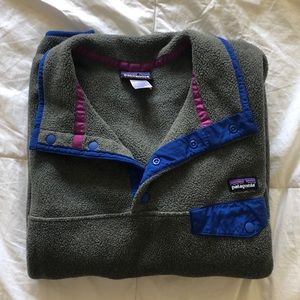 Patagonia Synchilla Lightweight Snap-T pullover